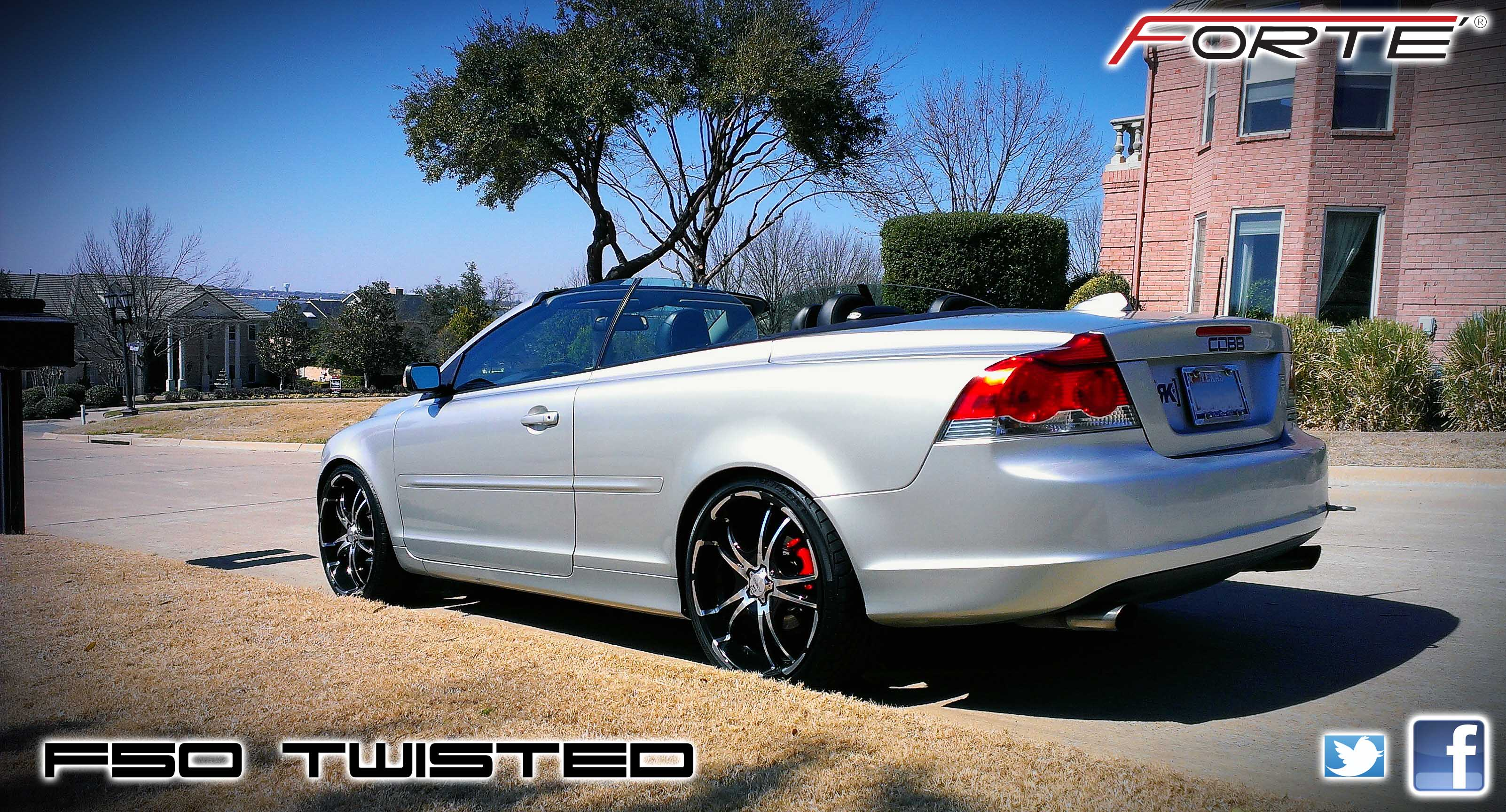 F50 Twisted Forte Wheels